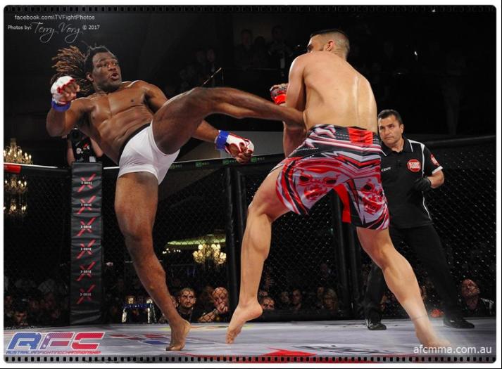 African Warriors Fighting
