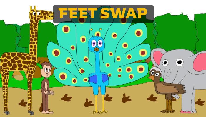 KIDS Feet Swap