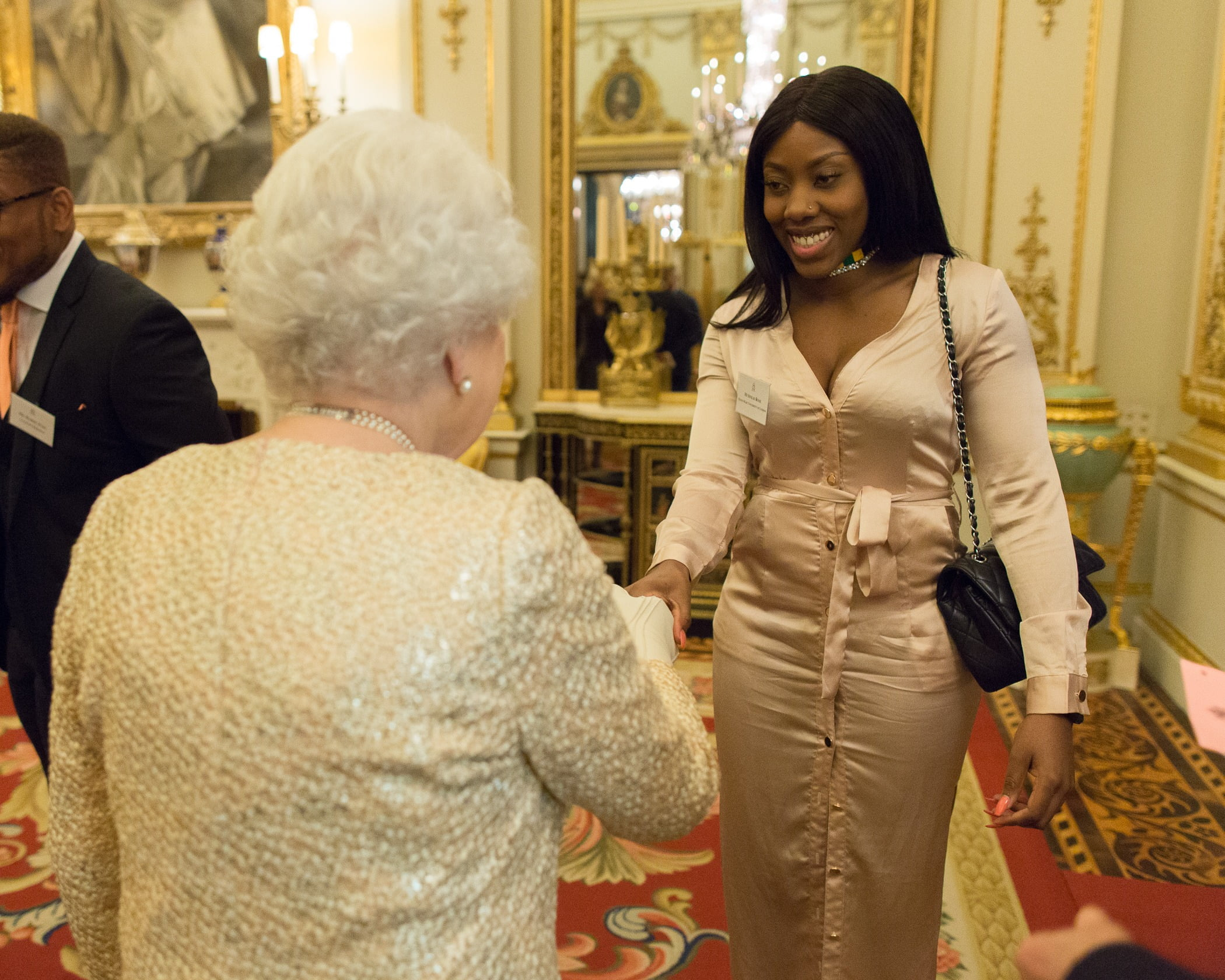 Sinead Rose was invited by Queen Elizabeth to attend the Commonwealth Reception in February