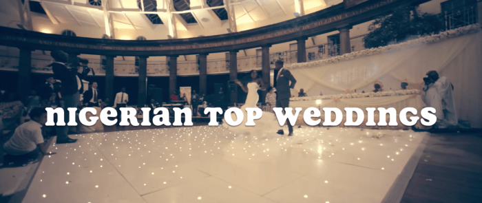 Nigerian Top Weddings – COMING SOON